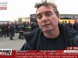 500 pompiers du Nord en colère à Paris !
