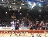 Action du match / STB Le Havre - Le Mans