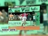 Marat Safin, le roi des raquettes cassées