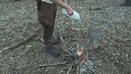The Safest Way To Put Out A Fire