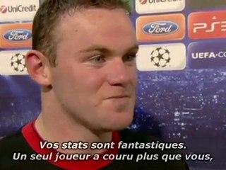 Rooney et son nouveau rôle de milieu de terrain