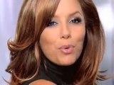Eva Longoria for Loreal silk and gloss hair wendy iles