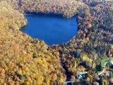 Ballade en hydravion au dessus du lac Blanc