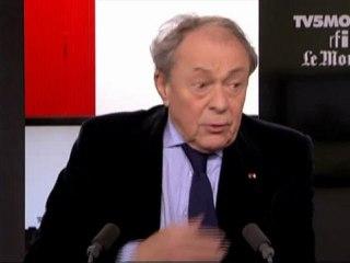 """Michel Rocard : """"Je n'ai jamais entendu Jean-François Copé tenir un raisonnement"""""""