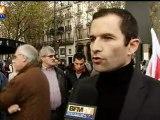 Benoît Hamon réagit à l'interview de Sarkozy