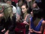 Rachel Zoe at Giambattista Valli Show, Spring 2012 PFW   FTV