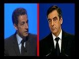 La France en faillite vue par Sarkozy et Fillon