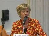 Armande Le Pellec-Muller - Recteur de l'Académie de Strasbourg - Chancelier des Universités d'Alsace - Trophée Fronitus 2011
