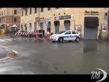 Nuovo nubifragio su Genova, preoccupa il fiume Bisagno -VideoDoc. Forti piogge nella notte, situazione resta difficile