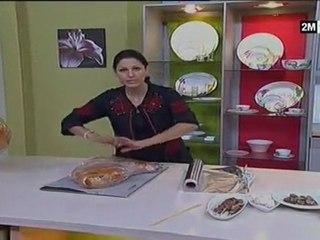cusine marocaine choumicha méchoui recette mouton farcie aid adha