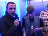 Justin Bieber avec Nikos Aliagas sur Europe 1