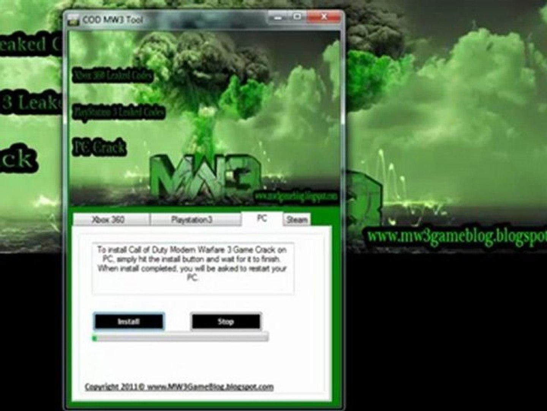 Download Modern Warfare 3 Game Crack Keygen Free Video