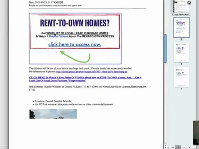 Real Estate Investor Marketing – Top Secret Craigslist Strategies Revealed