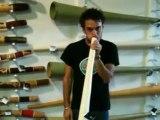 Didgeridoo Store Product Demo - Hemp Didge key D MN 826