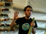 Didgeridoo Store Product Demo - Hemp Didge key F MN 821
