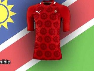 Les nouveaux maillots des pays africains !