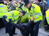 LONDON PROTEST: Occupy Trafalgar Sq camp closed