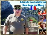 Gérald et sa famille au Gap dans les Alpes