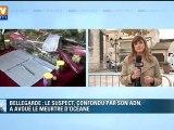 Gard : les obsèques d'Océane à 15h à Bellegarde