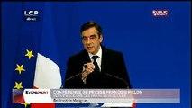 Évènements : Conférence de presse de François Fillon : annonce du plan d'équilibre des finances publiques