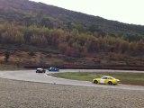 Drift en Renault 8 sur le circuit du Sambuc le 11/11/11