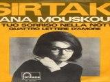 IL TUO SORRISO NELLA NOTTEQUATTRO LETTERE D'AMORE Nana Mouskouri 1966 (Facciate2)