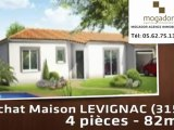 A vendre - maison - LEVIGNAC (31530) - 4 pièces - 82m²