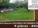 A vendre - MAISON - VILLERS LES ORMES (36250) - 4 pièces -
