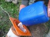 karsteau 3 : Injection d'Acide Amino G à l'Embut sud-ouest de Cuges les Pins