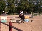 Goliath et Camille Club Elite Concours au Boulerie Jump 26 sept 2011