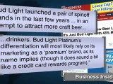Bud Light Platinum: Stronger ... And Not So Light