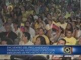 """Leopoldo López: """"Debemos desterrar para siempre a la violencia"""""""