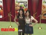 "Vanessa Marano and Laura Marano at ""The Muppets"" Premiere"