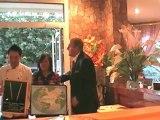 Baguettes d'or Gourmet d'Asie Nimes le 29 septembre 2009 par Eric Duluc Federation internationale du Tourisme