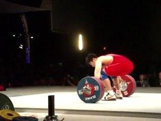 World Weightlifting Championships - M85kgA - Yong LU - Snatch 1 - 170kg