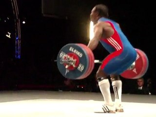 World Weightlifting Championships - M94kgB - David MATAM MATAM - Snatch 3 - 170kg