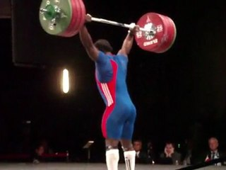 World Weightlifting Championships - M94kgB - David MATAM MATAM - Clean and Jerk 1 - 197kg