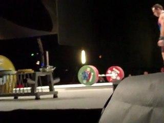 World Weightlifting Championships - M-105kgC - Kévin BOULY - Snatch 2 - 154kg
