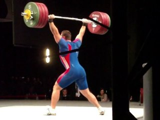 World Weightlifting Championships - M-105kgC - Kévin BOULY - Clean & Jerk 3 - 198kg