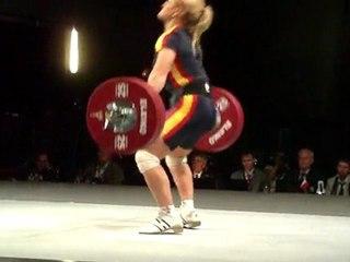 World Weightlifting Championships - W-75kgA - Lidia VALENTIN - Snatch 3 - 120kg