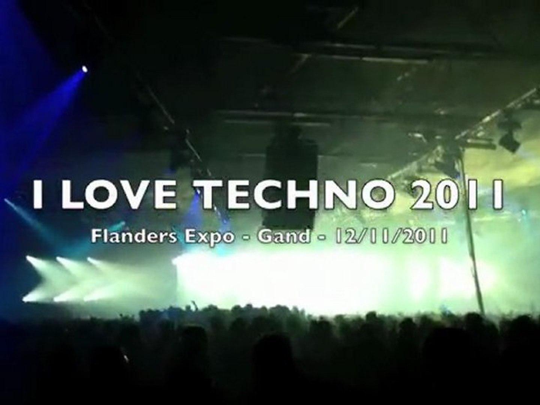 I Love Techno 2011 - Flanders Expo Gand - 12/11/2011