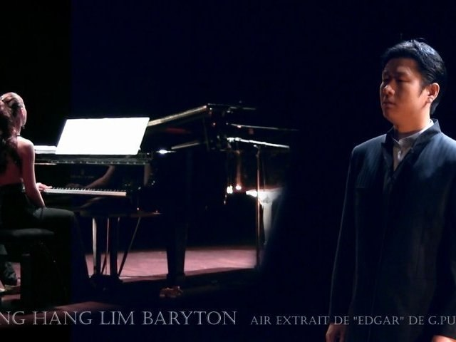 "Chang Hang Lim, ténor :  ""Edgar"" de G.Puccini"