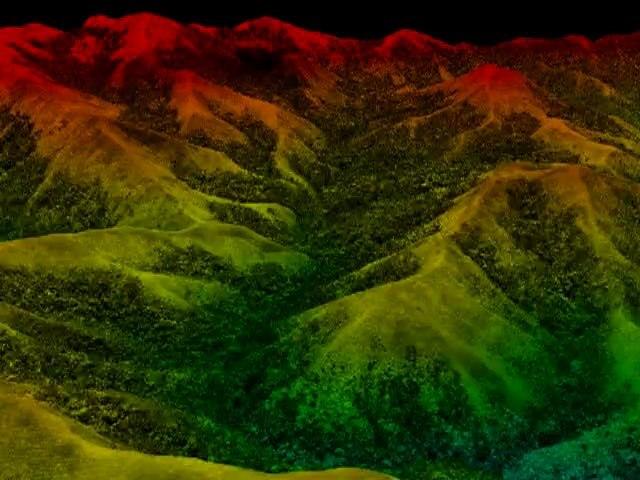 Forêts de Madagascar - Video 3D post-survol LiDAR