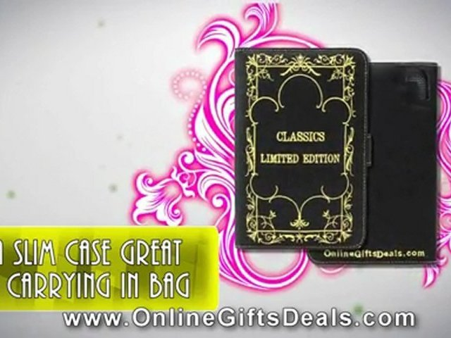 Black Hemp Eco Protect Cover Case for Amazon Kindle – Classic Limited Edition
