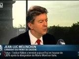 """Mélenchon fustige """"les homme politiques classiques de droite et de gauche"""""""