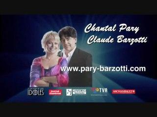Claude Barzotti et Chantal Pary  promo tournée 2012 au Canada