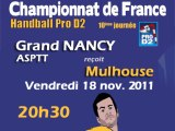 Grand Nancy  ASPTT - Mulhouse Handball Sud Alsace