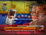 Toda Venezuela Contacto telefonico con el presidente de la Republica Hugo Chavez Frias 14.11 2011  2/4