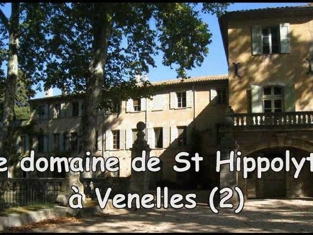 Le domaine de St Hippolyte à Venelles (2)