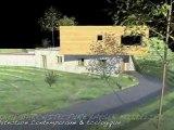 Villa Contemporaine & Écologique en Corse ( Maison BBC, Ossature Bois & Pierre de Pays )